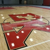 East Kentwood HS Fieldhouse: Sportwood Ultra Star