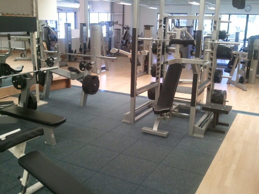 Weight rooms robbins sports surfaces