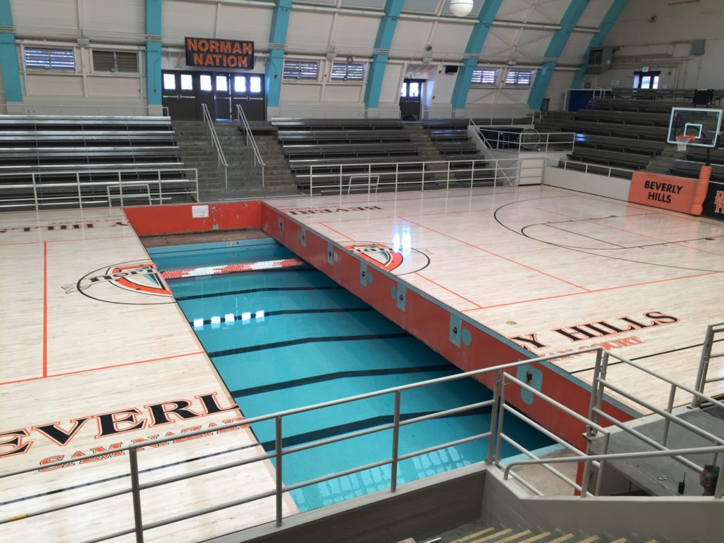 Beverly Hills High School Robbins Sports Surfaces