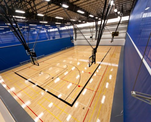 Hardwood Basketball Courts