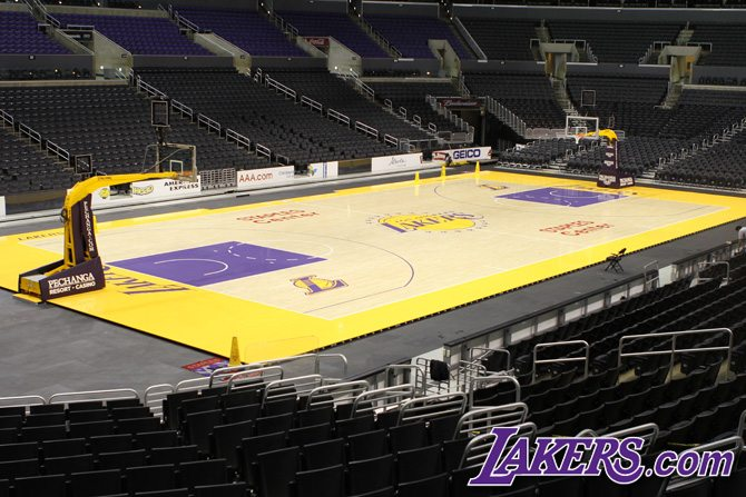 NBA Basketball Court